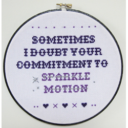 Sometimes I Doubt Your Commitment To Sparkle Motion