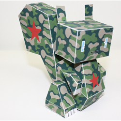 Paper Toy #70