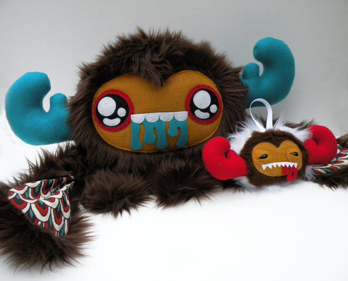 Original plush art for Stuff This III.