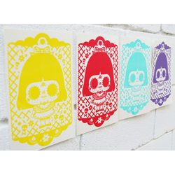 Calaveritas print set
