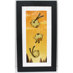 Shrimpitt on the Wind (framed)