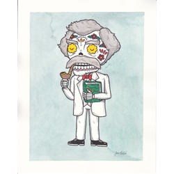 Mark Twain Calavera