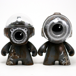 Clear Vision Mk2 - Coastal Grey Series (figure on right)