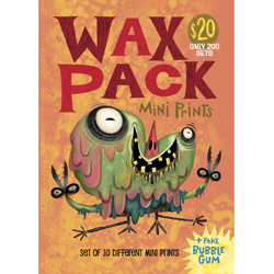 Wax Pack 11 (Canvas Print)