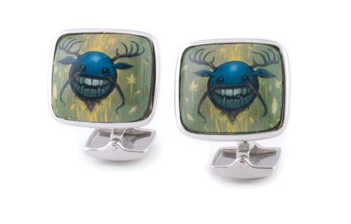 Can you teach an old dog new tricks? Can the cuff link shed its stuffy, pompous reputation? Luxury men's brand Hobbs and Kent dares five leading Pop Surrealism artists to reinterpret this classic men's accessory.