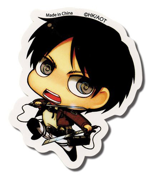 Sticker from Attack on Titan - Eren