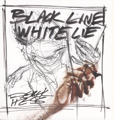 Black Line White Lie is the long overdue book featuring over 275 black and white images by artist Derek Hess. This book covers over 20 years of his black and white drawings from images of his earliest fliers to some of his more recent works like Cancer of the Soul and Valentine. Derek dedicates this huge 300 page book to his fans which also includes a chapter of over 70 tattoos that people have done of his works.