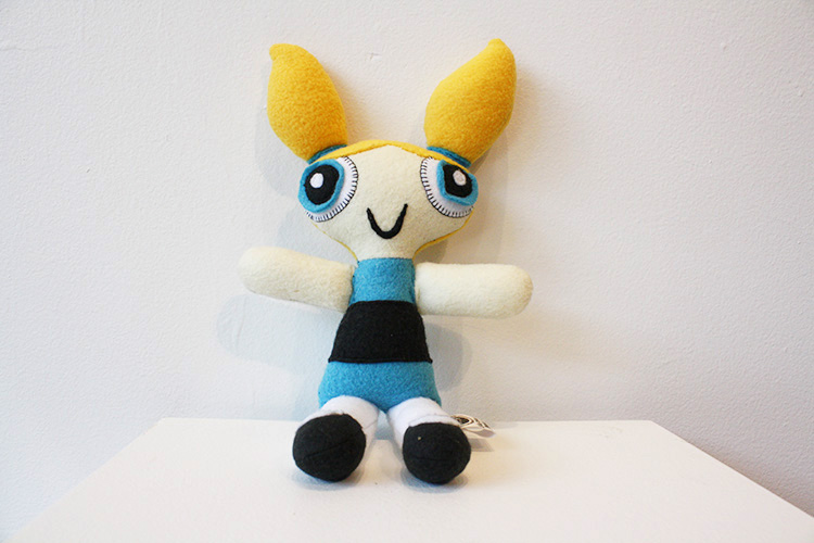 Plush Fiber Art, Limited edition of 1