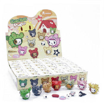 Cactus Pups 1.25 inch figure by Tokidoki.