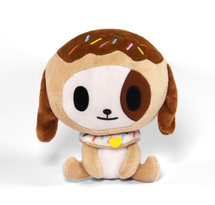 Make this ultra sweet Donutino plush part of your collection. Complete with a kawaii sprinkled donut collar, this plush constructed from our super duper soft tokidoki fleece is sure to be a cozy addition to your home. Essential to any Donutella fan!