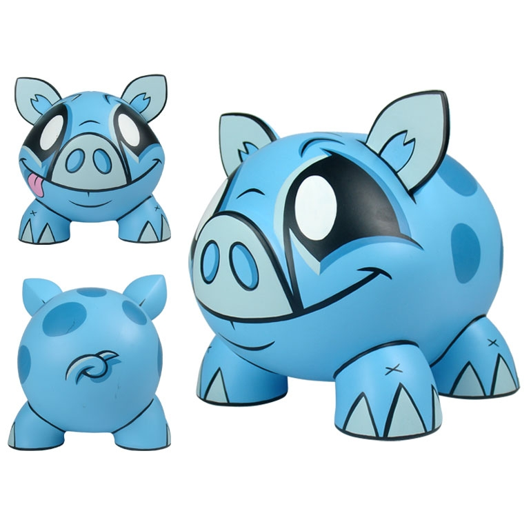 Saving money never looked so cute, oink!  Save up money for your toy habit or rainy day fund in this little guy.