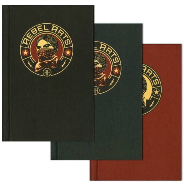 Rebel Arts Sketchbook by Shepard Fairey.