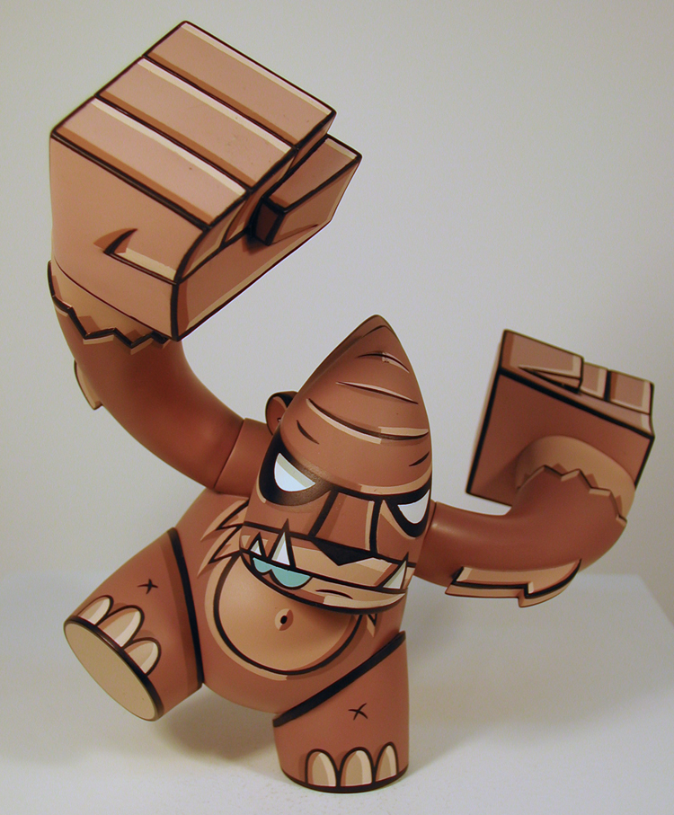 Smash, 7 inch figure by Joe Ledbetter.
