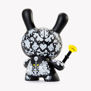 UK design collective ilovedust imbue Dunny with their trademark abstract stylings on their latest creation, Togo Monroe.<br><br>