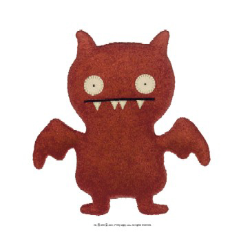 Uglydolls Little Uglys Ice Bat Red by David Horvath and Sun-Min Kim