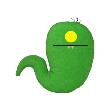 Uglydolls Little Uglys-Uglyworm by David Horvath and Sun-Min Kim