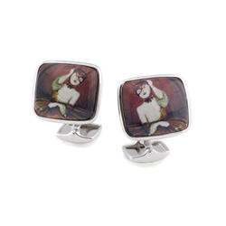 Ray Caesar Artist Series Cuff Links- Fire