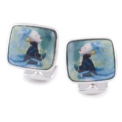 Ray Caesar Artist Series Cuff Links- Water