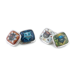 Jeff Soto Artist Series Cuff Links-The Four Seasons