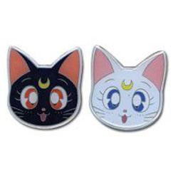 Sailor Moon Pin Set - Luna and Artemis