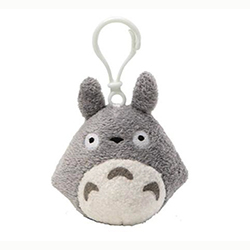 Totoro Backpack Clip -Gray