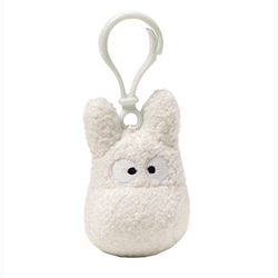 Totoro Backpack Clip - White