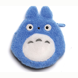 Totoro Coin Purse Blue