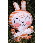 Anna Chambers Bunny Plush - Orange Cream