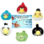 Angry Bird Fuzzy Pencil Topper