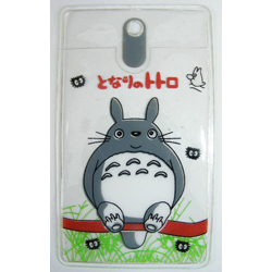Totoro Badge Holder