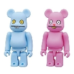 Bearbrick Uglydoll Trunko and Babo