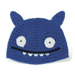 Uglydoll Ice-Bat Hat blue