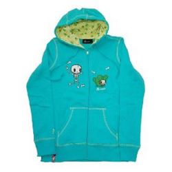 Tokidoki Women's The Bone Yard Hoody- Large