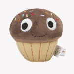 Yummy Cupcake 4.5-inch plush chocolate