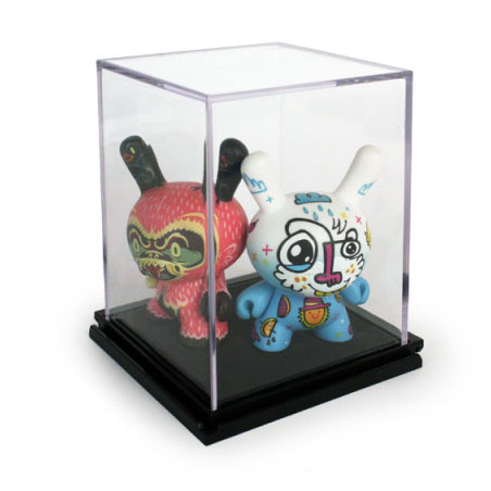 Mini Figure Display Cases - Square