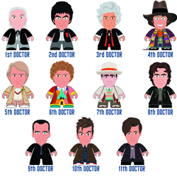 Doctor Who 50th Anniversary Titans