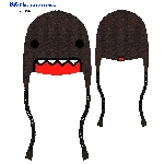 Domo Plush Big Face Peruvian Hat