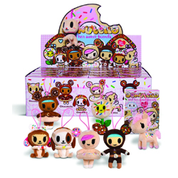 Donutella and Her Sweet Friends Mini Plush - Individual Box