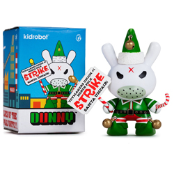 Dunny Holiday Grumpy Elf - Individual Box