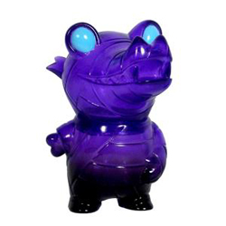 Pocket Mummy Gator - Translucent Purple