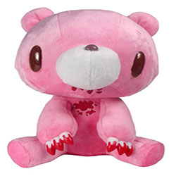 Gloomy Bear Sitting - Pink Bloody