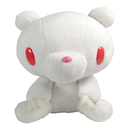 Gloomy Bear Sitting - Albino White