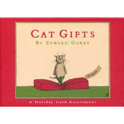 Edward Gorey Holiday Card Assortment-Cat Gifts
