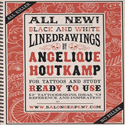 All Killer No Filler: Linedrawings For Tattoos and Study, Ready To Use