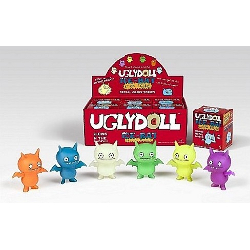 Uglydoll Action Figures-Glow In the Dark Ice Bat-Case of 6