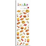 Iwako Sticker Set - Junk Food