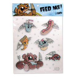 Joe Ledbetter Feed Me! Magnet Set