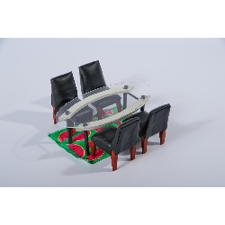 The Kaleidoscope House - Dining Room Set