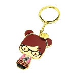 Momiji- Enamel key chain: Alex