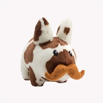Plush Labbit - Cow 'Stache 7-Inch